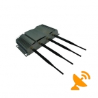 4 Antenna 3G Cell Phone Jammer