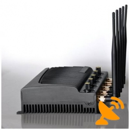 Adjustable 3G GSM Signal Cell Phone Jammer