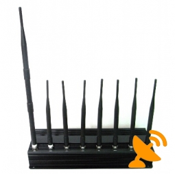 Eight Antenna All in one for all Cellular,GPS,WIFI,Lojack,Walky-Talky Jammer system