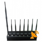 Eight Antenna All in one for all 3G 4G Cellular,GPS,WIFI,Lojack Jammer system