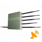 15W Six Antenna Cell Phone ^ GPS ^ Wifi Jammer