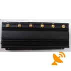 15W High Power Mobile Phone & Wifi & UHF Signal Jammer