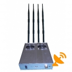 25W 4G 3G High Power Cell Phone Jammer with Cooling Fan