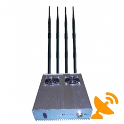 High Power 3G Mobile Phone Jammer with Cooling Fan