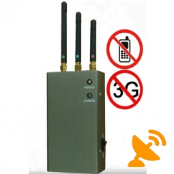 NEW Portable Cellular Phone Signal Jammer Blocker