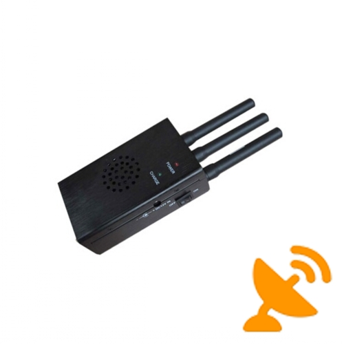 High Power Portable Cellular Jammer 3G 2G Signal - Click Image to Close