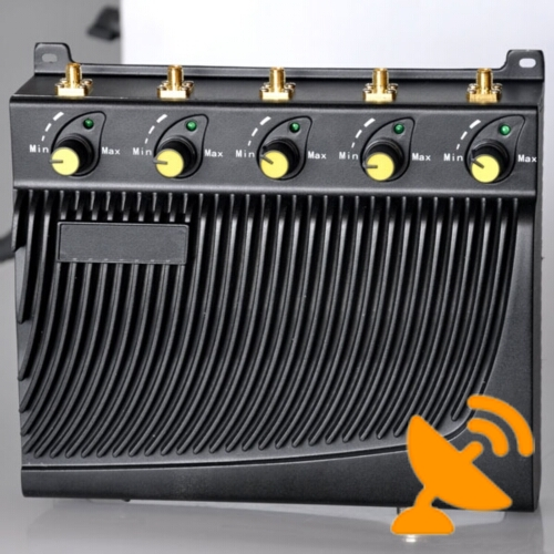 3G 4G WIMAX Cell Phone Adjustable Jammer - Click Image to Close