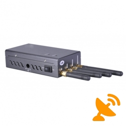 Portable Cell Phone & GPS L1 & Wifi Signal Jammer