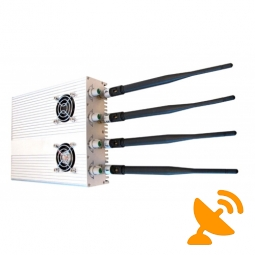 Adjustable Jammer for 2G 3G Cell Phone & GPS Signal Jammer