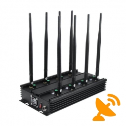 Ultimate Eight Band Wireless Signal Jammer Terminator for Mobile Phone, WiFi Bluetooth, UHF, VHF, GPS, LoJack