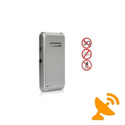 New Cellphone Style Mini Portable Cellphone & GPS Signal Jammer
