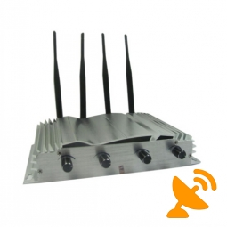 2013 NEW 4 Antenna Wall Mounted Cell Phone Jammer