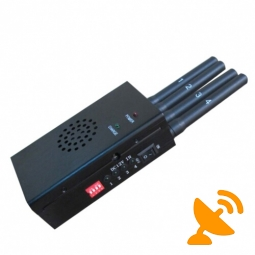 High Power Portable 3G 4G Lte Cell Phone Jammer