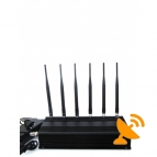 High Power Desktop WIFI & Cell Phone & RF Jammer