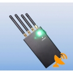 Four Antenna Cell Phone & Wifi Jammer