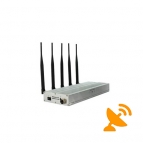 Five Antenna UHF Audio 450-470 MHz & Cell Phone Blocker