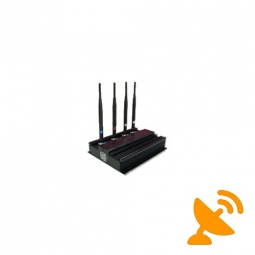 High Power Four Antenna UHF/VHF Jammer