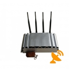 4 Antenna Adjustable Remote Control Cell Phone Jammer