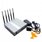 3G 4G High Power Mobile Signal Blocker with Remote Control - 4G Wimax