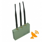 3 Antenna GSM 3G Remote Control Cell Phone Jammer